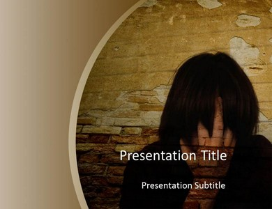 Stress Fracture Powerpoint Templates