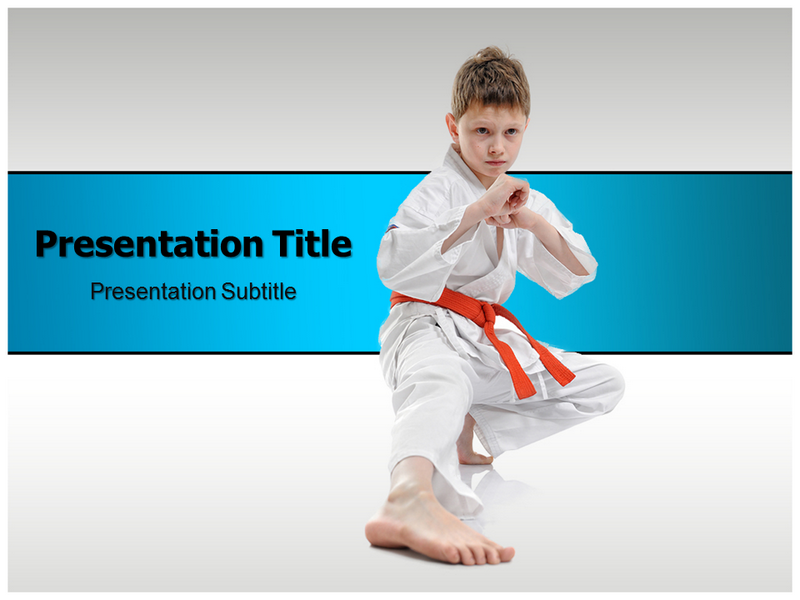 Karate powerpoint templates karate ppt template ppt background my toneelgroepblik Gallery