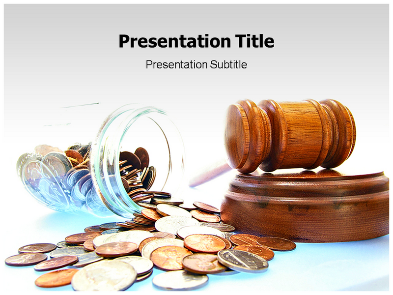 Gavel Powerpoint Templates
