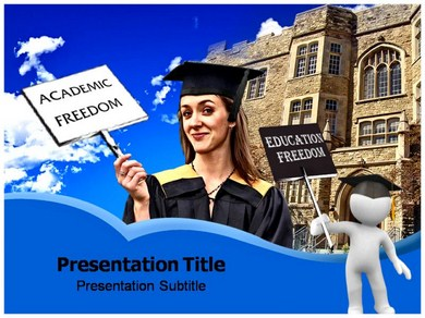Academic Freedom Powerpoint Templates