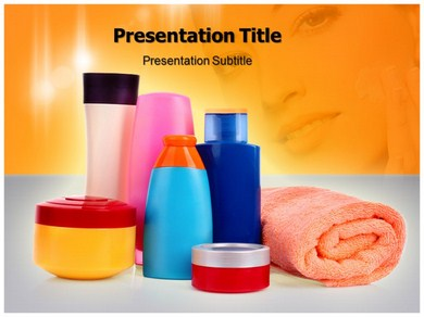 personal care Powerpoint Templates