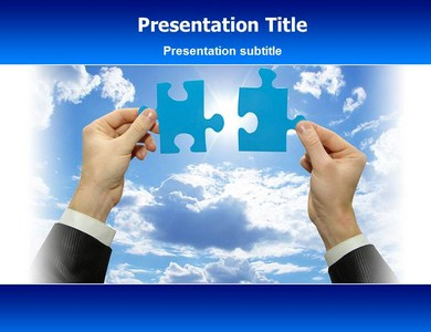 Puzzle Chart Powerpoint Templates