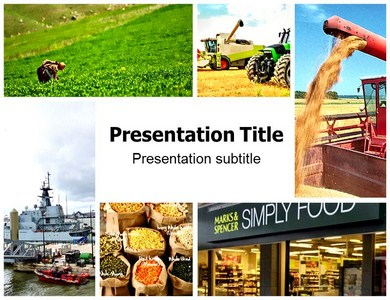 Agriculture Supply Chain Management Powerpoint Templates