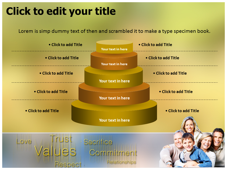 Family improtance Powerpoint Templates