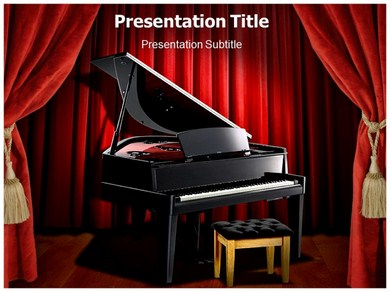 Piano Notes Powerpoint Templates