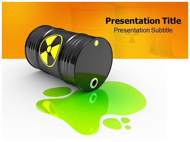 High Level Radioactive Waste Management PowerPoint Templates with ...