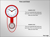 Time And Clock powerPoint background