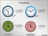 Time And Clock powerpoint template download