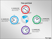 Time And Clock ppt templates