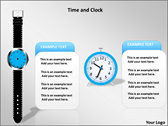 Time And Clock slides for powerpoint