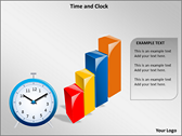 Time And Clock powerPoint backgrounds