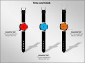 Time And Clock background PowerPoint Templates