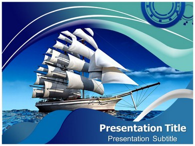 Pirate Ship Powerpoint Templates