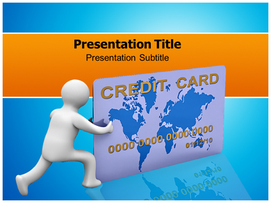 Creadit Card Powerpoint Templates