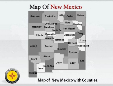New Mexico  PowerPoint Templates
