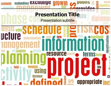 Project Information Powerpoint Templates