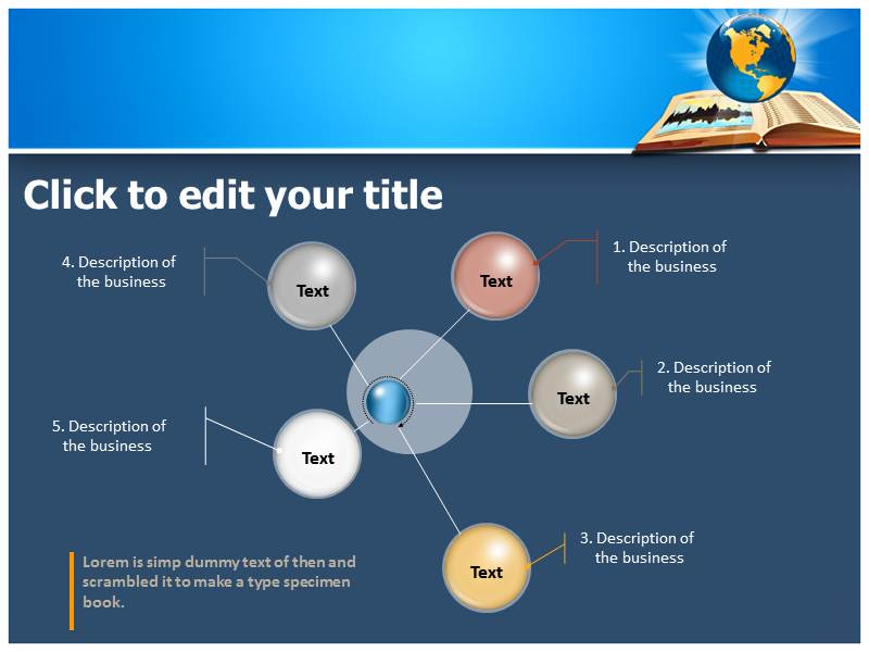 Global Read Design Powerpoint Templates
