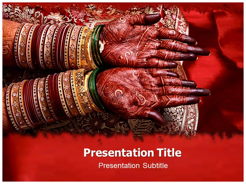 indian wedding (ppt)powerpoint templates | wedding powerpoint, Powerpoint templates