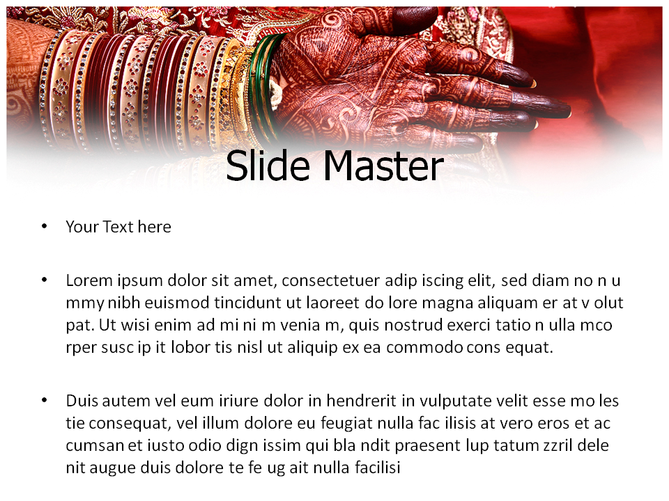 Indian Wedding Powerpoint Templates