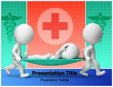 Stretcher Trolley Powerpoint Templates