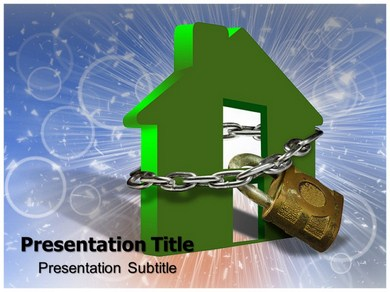 Home Security Powerpoint Templates