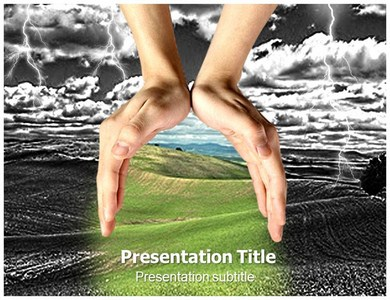 Hands for Help Powerpoint Templates