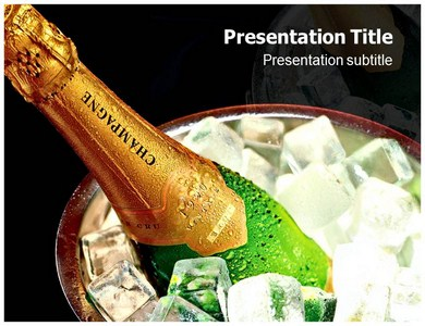 Champagne Powerpoint Templates