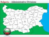 Map of Bulgaria  backgroundPowerPoint Templates