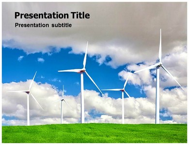 Wind Turbine Powerpoint Templates