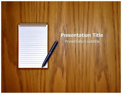 Legal Pad Powerpoint Templates