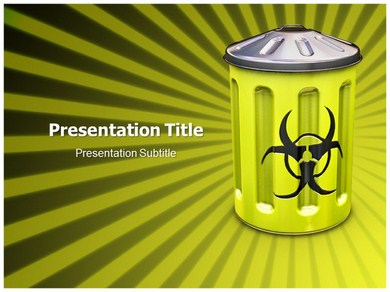 nuclear waste Powerpoint Templates