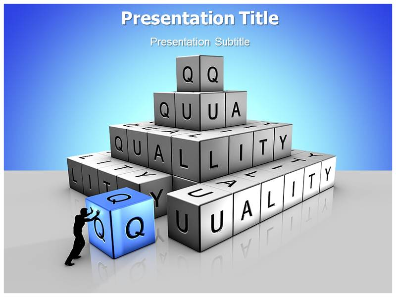 Quality assurance powerpoint templates download toneelgroepblik Image collections