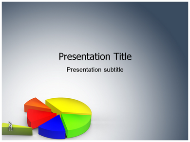 Pie Chart 2 Powerpoint Templates