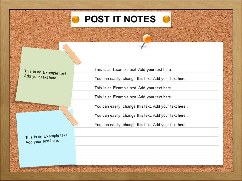 Post IT Note Powerpoint Templates