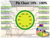 Precentage Chart powerpoint backgrounds download