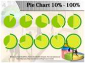 Precentage Chart power Point Backgrounds