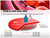 Blood Cells Platelets power point background templates
