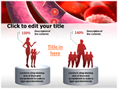 Blood Cells Platelets powerpoint theme templates