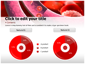 Blood Cells Platelets ppt backgrounds