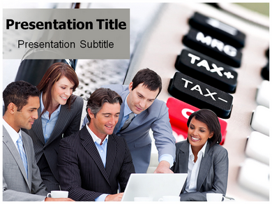Corporate Taxation Powerpoint Templates