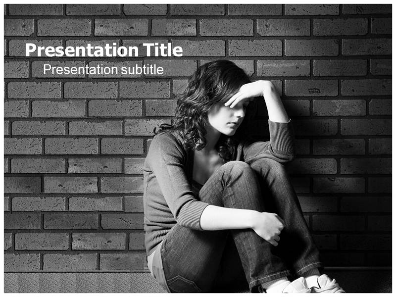 Powerpointppt templates on depression problems powerpoint my toneelgroepblik Gallery