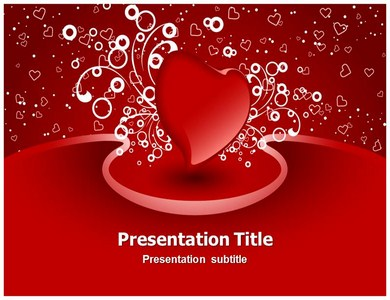 Heart Valentine Powerpoint Templates