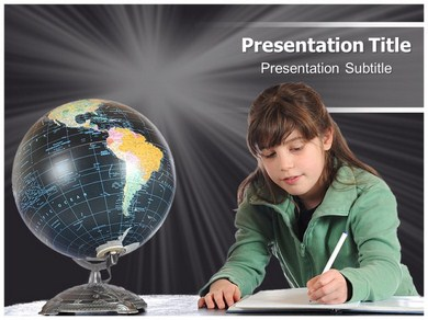 South america geography Powerpoint Templates