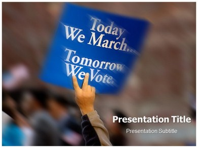 Civil Rights Powerpoint Templates