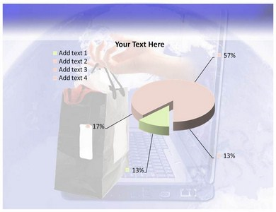 Online Shopping Market Powerpoint Templates