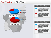 Map of San Marino  background PowerPoint Templates