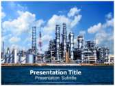 Refinery powerPoint template