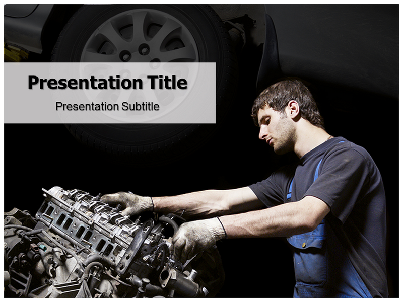 Mechanic Powerpoint Templates