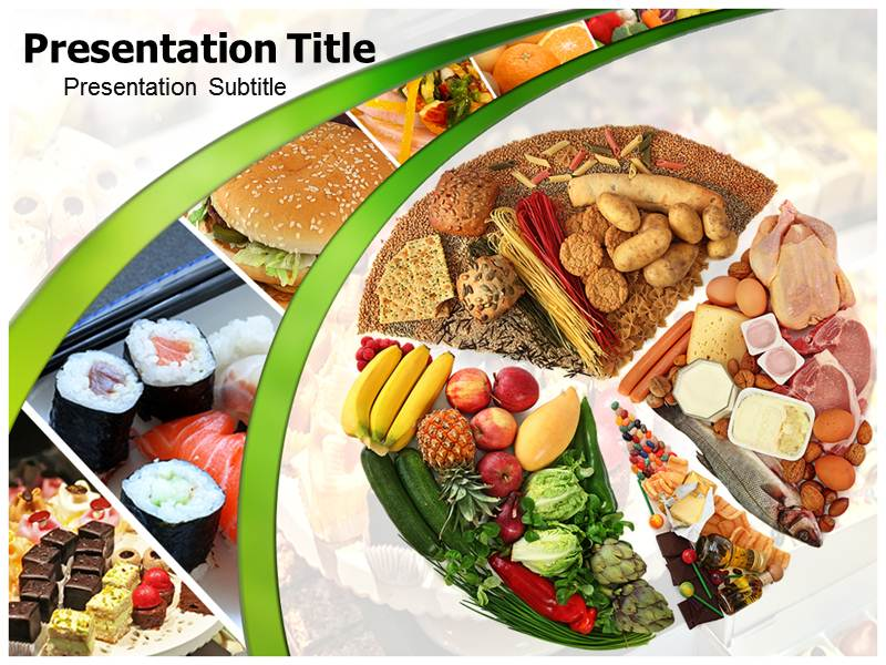Food Powerpoint Templates Powerpoint Presentation On Food Template