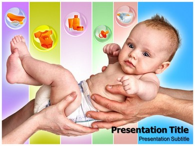 Baby Care 1 Powerpoint Templates